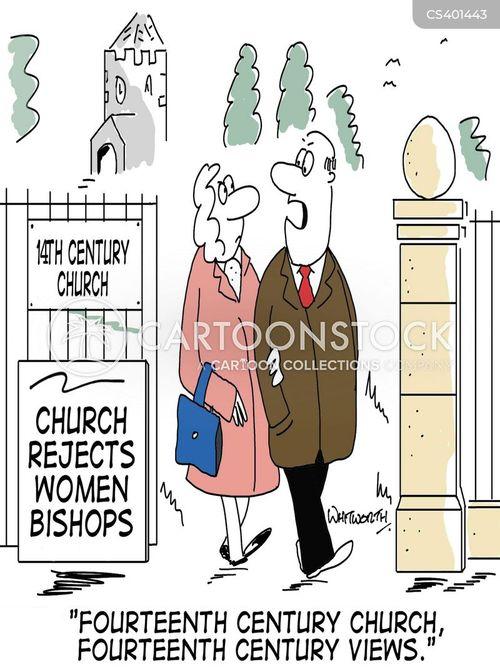 church of england cartoon