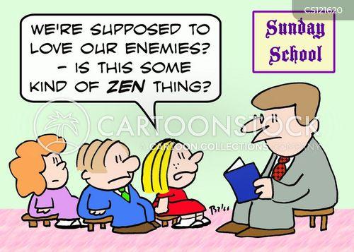 zen thing cartoon