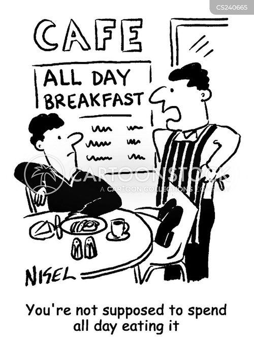 all day breakfasts cartoon