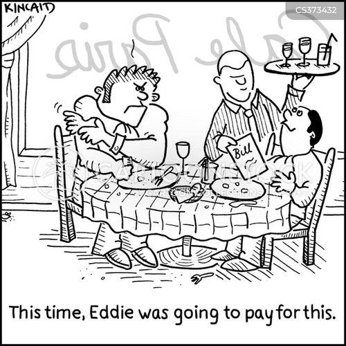 expenses account cartoon