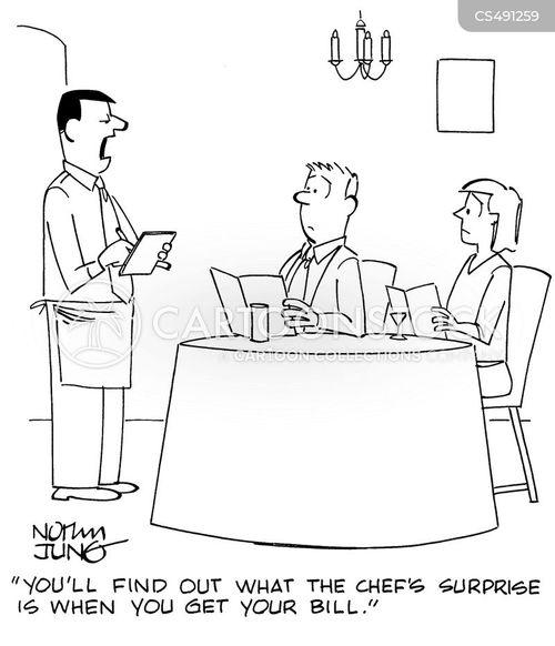chef surprise cartoon