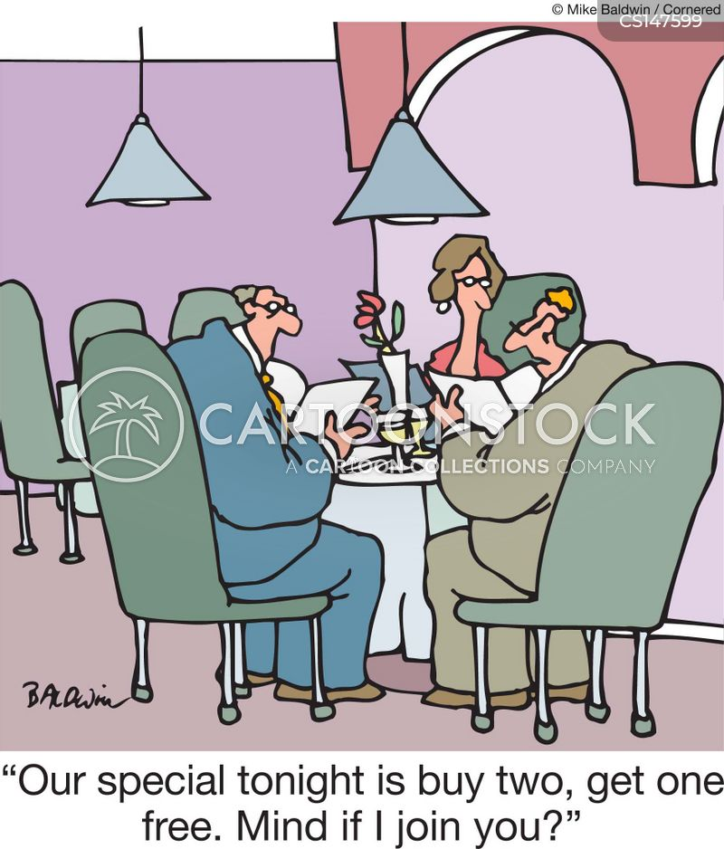 special offer cartoon