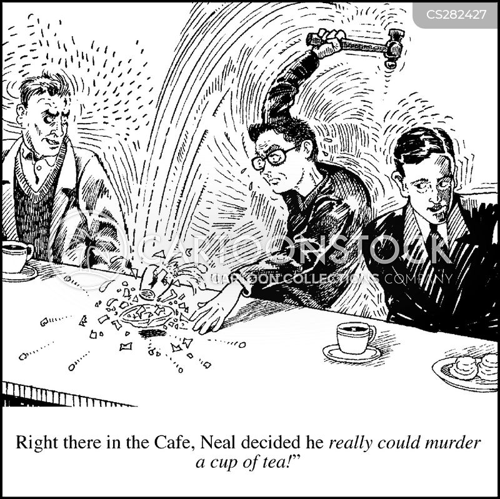 maniac cartoon