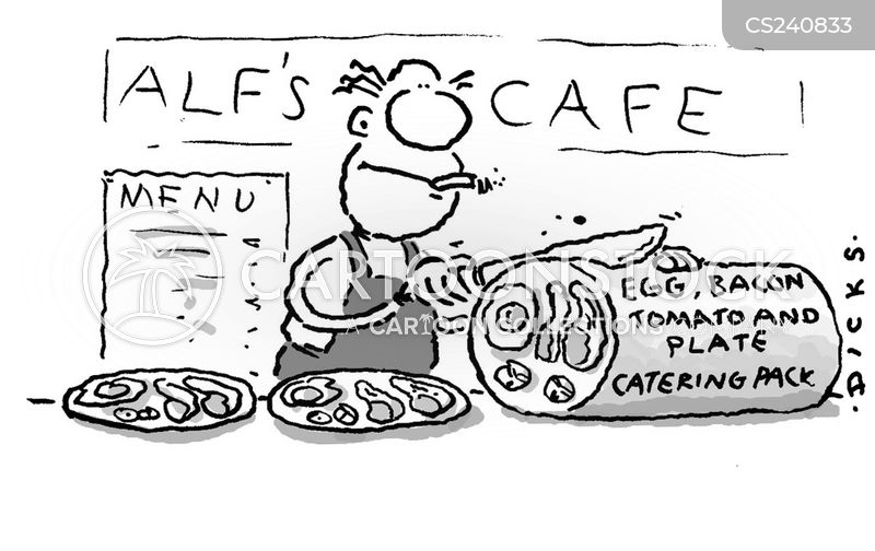 fry-ups cartoon