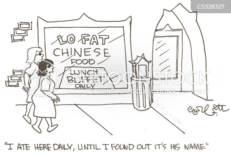 chinese takeaways cartoon
