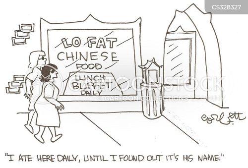 Low Fat Diet Cartoon 7 Of 19