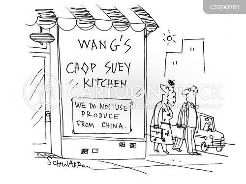 chines food cartoon