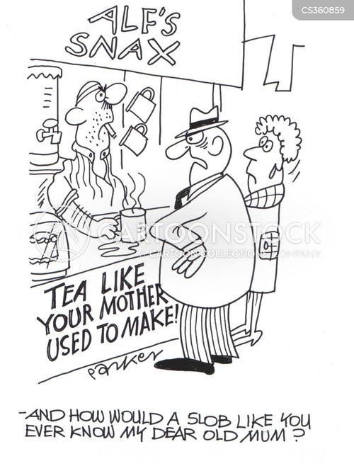 irate customer cartoon