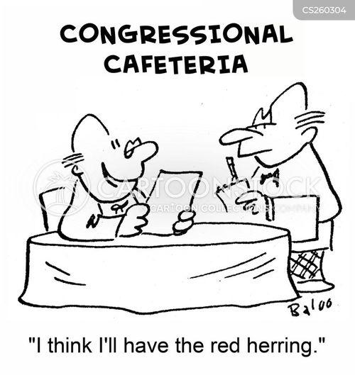 red herrings cartoon