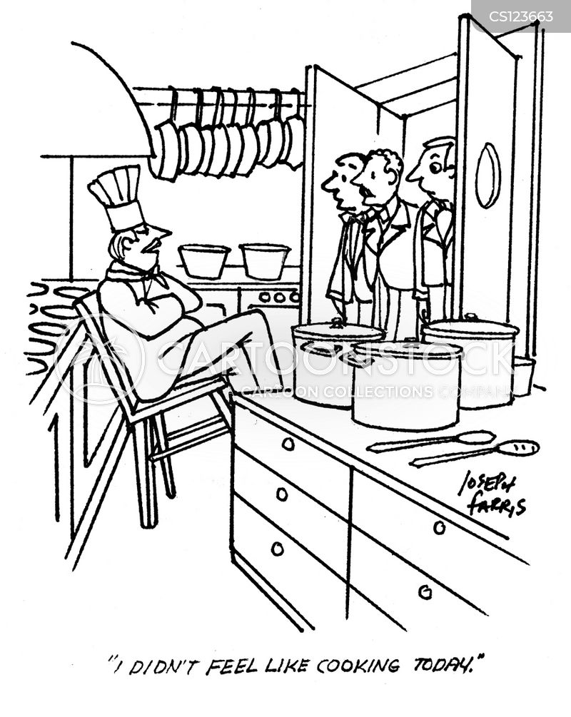 Lazy Chef Cartoons And Comics Funny Pictures From