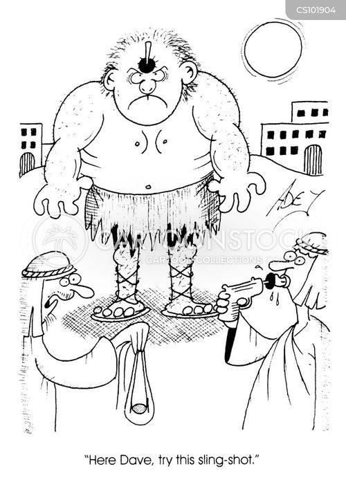 sling shot cartoon