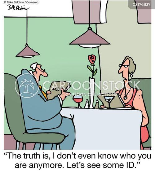 identifcation cartoon