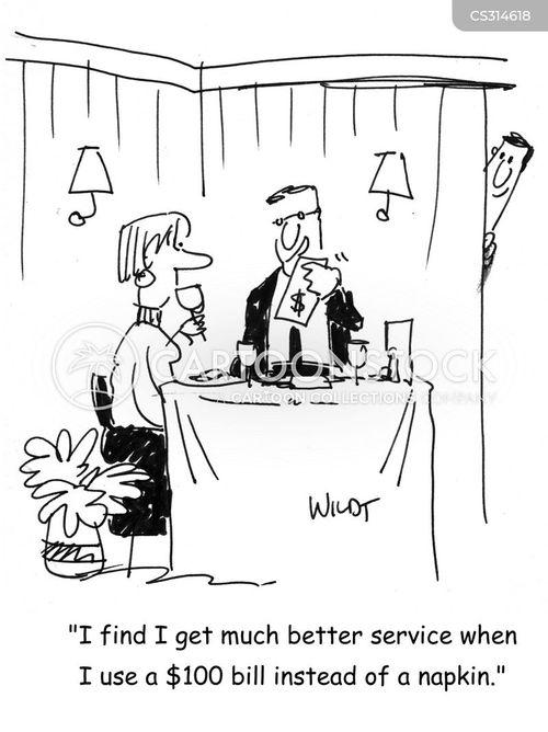 napkin cartoon