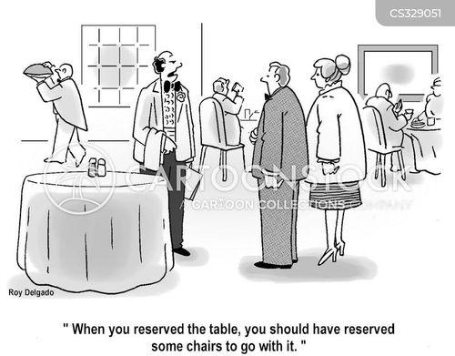 dining rooms cartoon