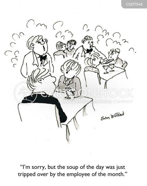dinning out cartoon