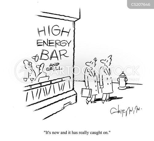 high energy cartoon