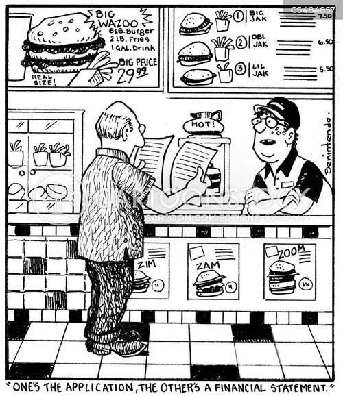 financial statement cartoon