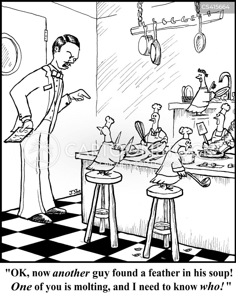 Kitchen Hygiene Cartoons And Comics Funny Pictures From Cartoonstock