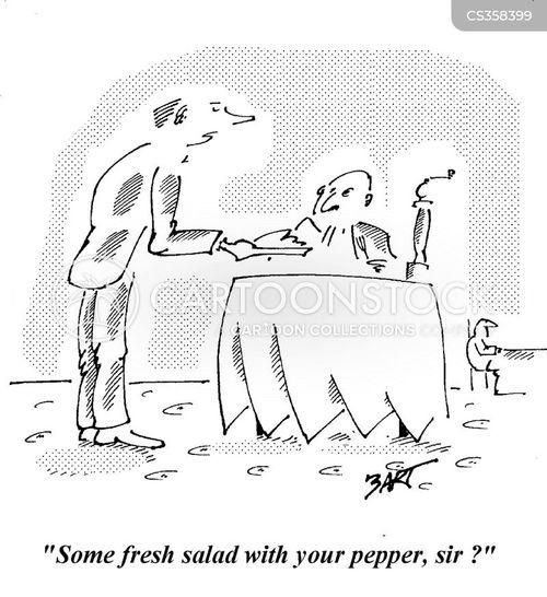 pepper grinder cartoon