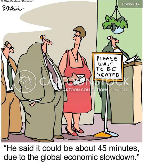waiting time cartoon