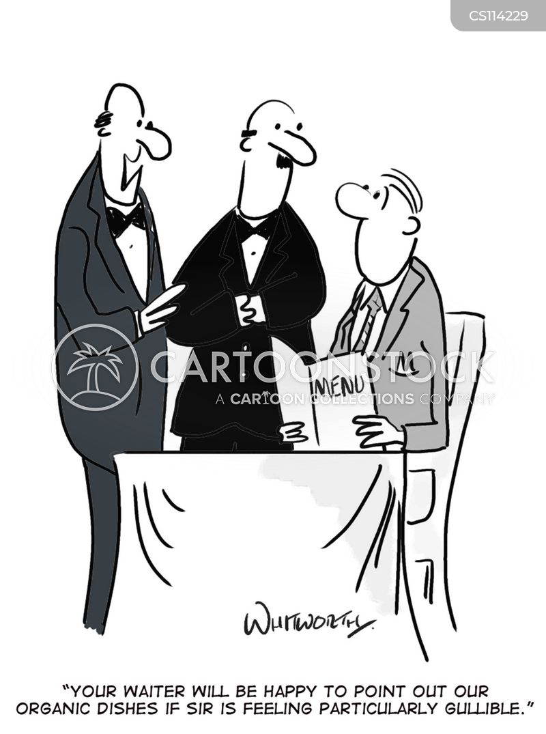 gullibility cartoon