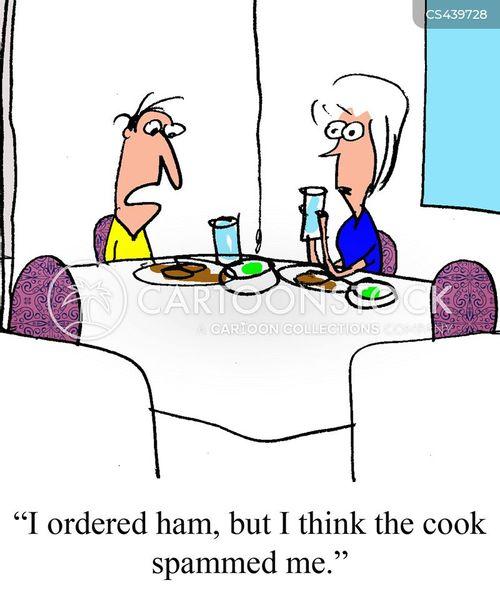 expensive restaurant cartoon