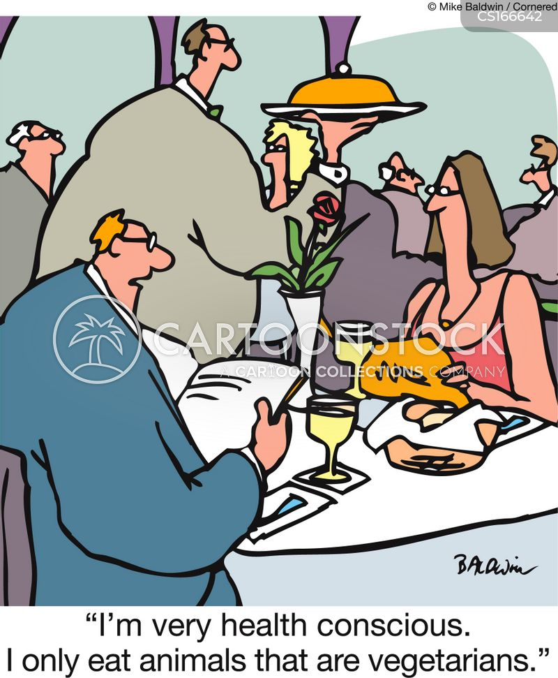 meat eating cartoon