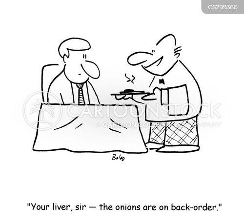 back order cartoon