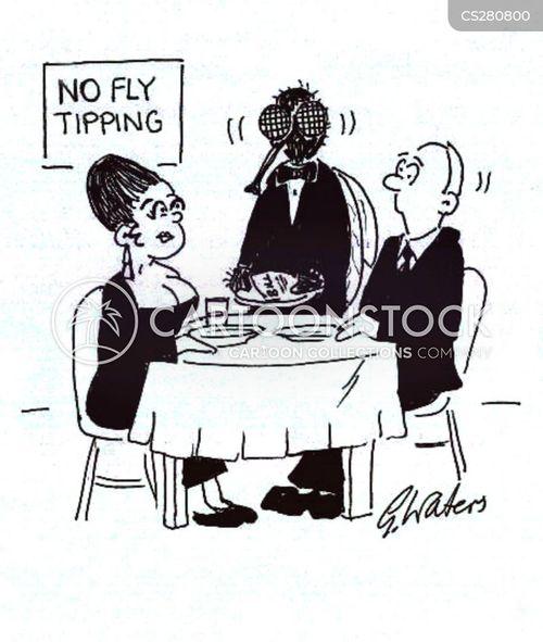 fly tipping cartoon