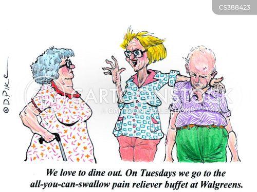 analgesic cartoon