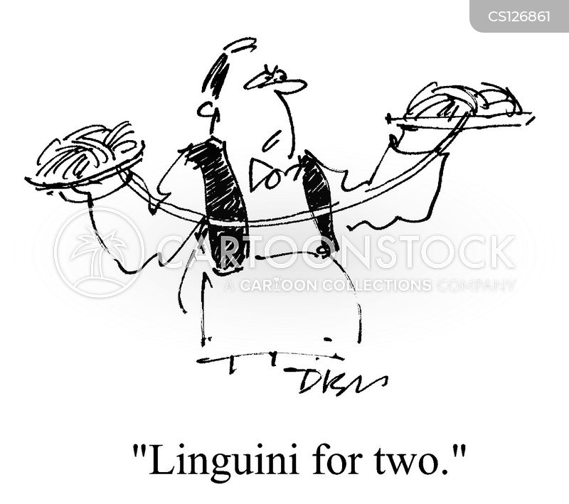linguini cartoon