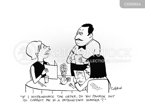 snotty cartoon