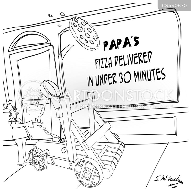 delivery boys cartoon