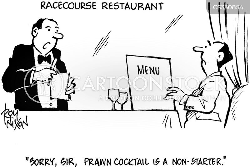 prawn cocktail cartoon