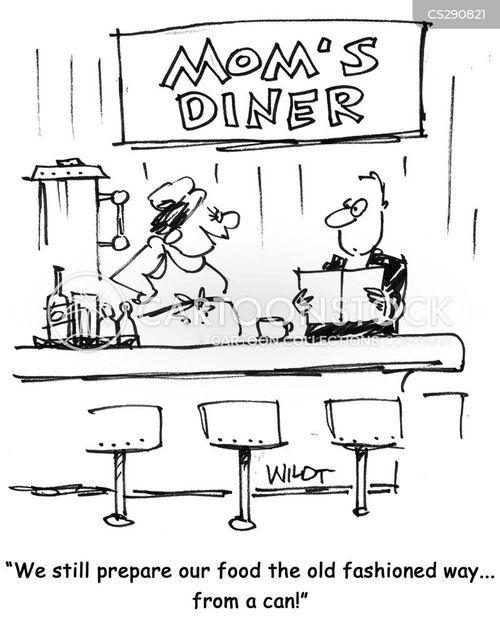 food preperation cartoon