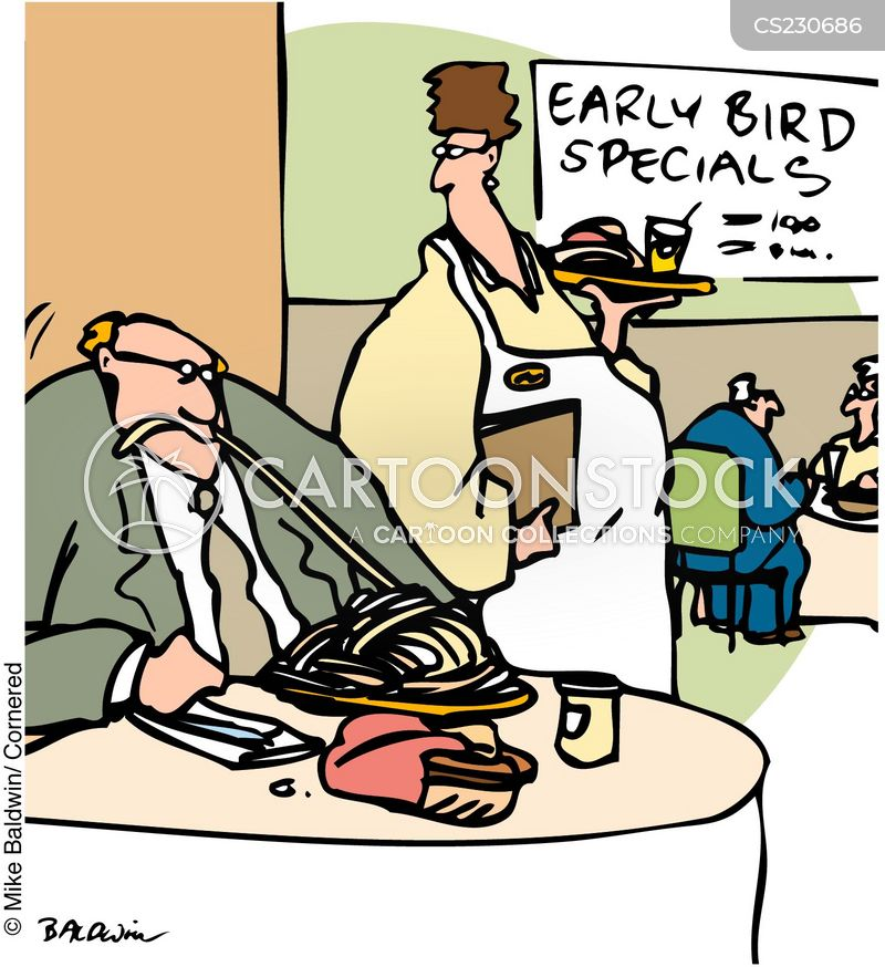 early bird specials cartoon