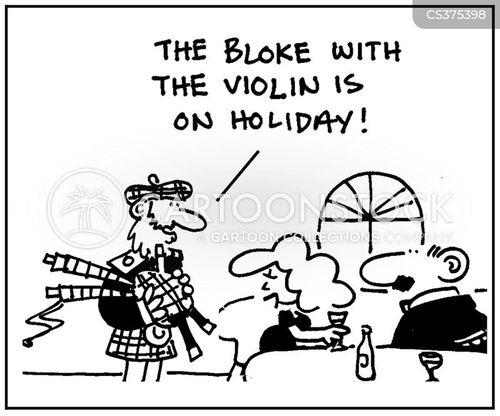 musical entertainment cartoon