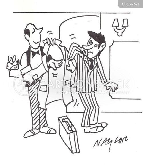 Silver Service Cartoons And Comics