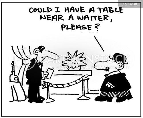 hostesses cartoon