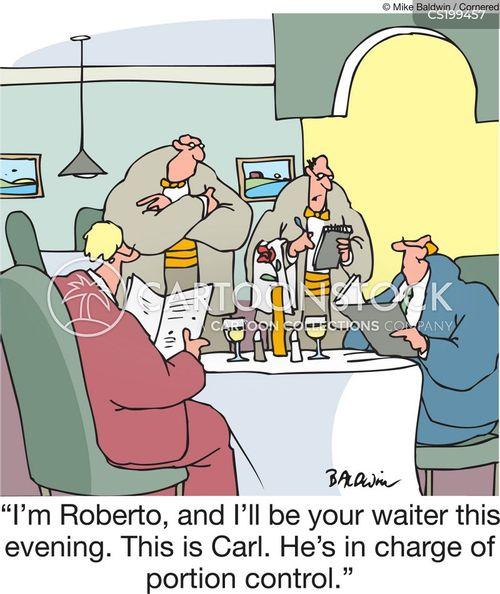 taking your order cartoon