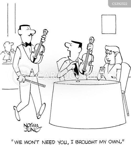 serenaded cartoon