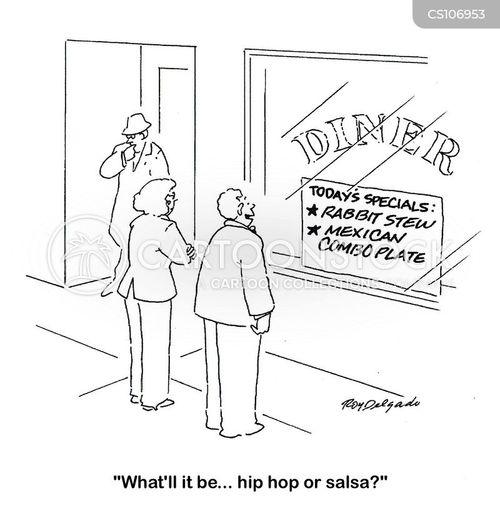 salsas cartoon