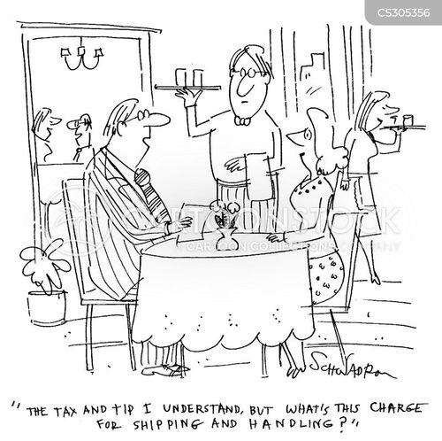 additional charge cartoon