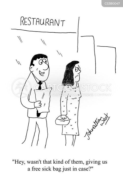vomitted cartoon