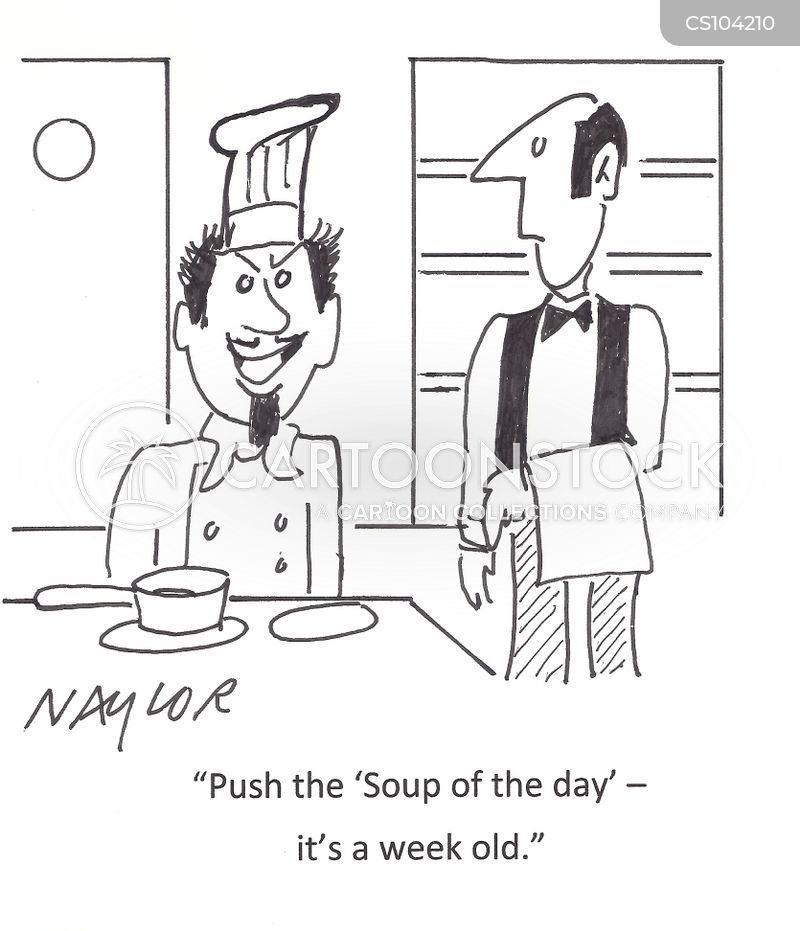 soup of the day cartoon