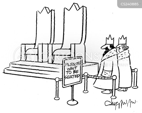 seated cartoon