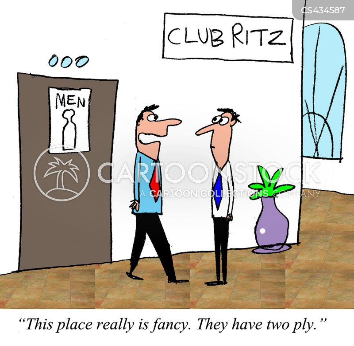 mens room cartoon