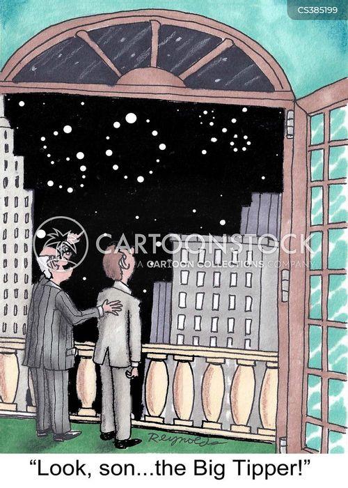 constellations cartoon