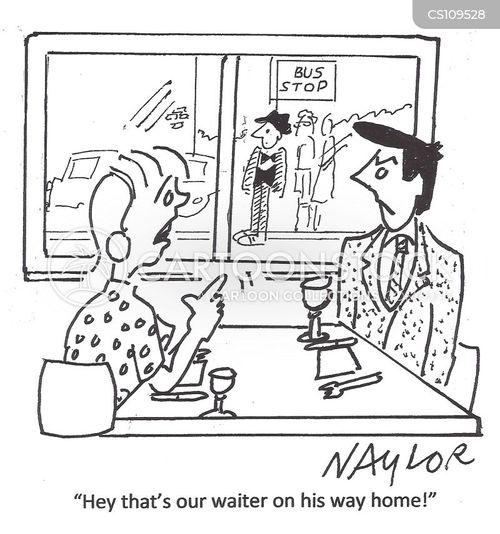 catering industry cartoon