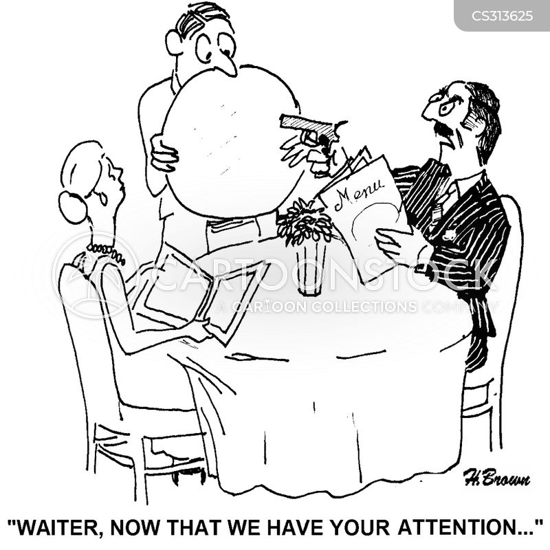 pays attention cartoon